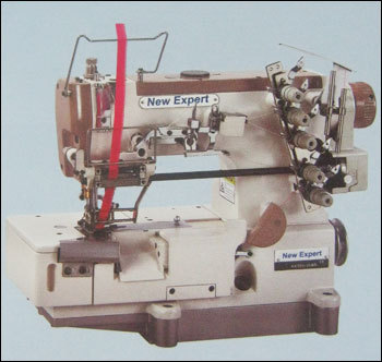 High Speed 3 Needle Chainstitch Interlock Sewing Machine For Attaching Elastic