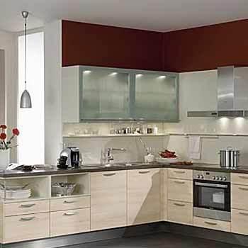 L Shaped Modular Kitchen In Faridabad Haryana Kaushik