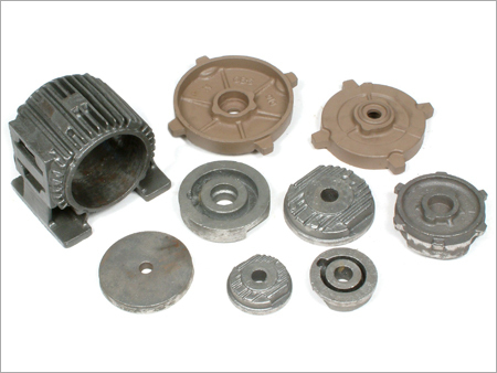 Electric Motor Casting Spare Part