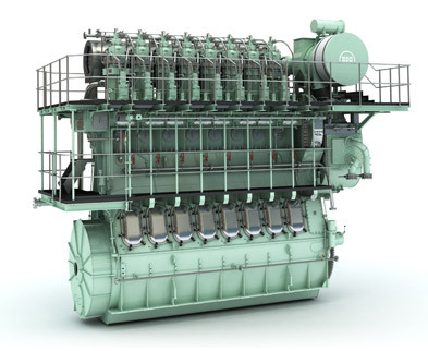 Two Stroke Low Speed Marine Diesel Engine In Shanghai
