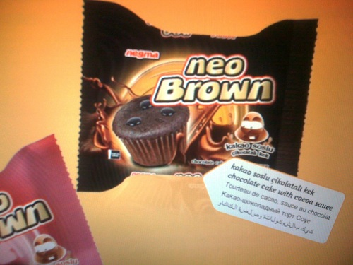 Neo Brown Cake And Biscuits