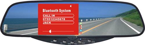 Auto Bluetooth Handsfree Car Reversing Aids with DVR Kits System