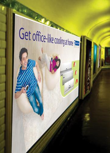 Backlit Wallbay Displays