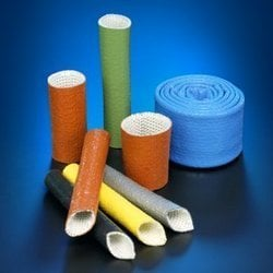 Silicone coated or silica sleeves