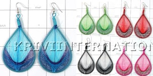 Kwll09070 Value Pack Of 30 Pair Of Feather Style Earrings
