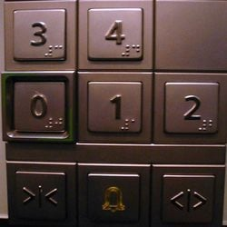 Rubber Safety Buttons For Lifts