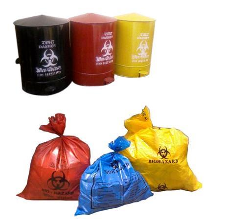 Waste Collection Bags, Bins