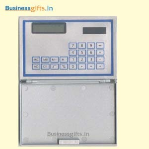 Solar Calculator With Card Case
