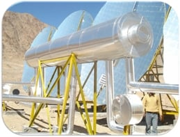 Solar Steam Generation & Cooking system