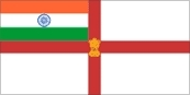 Indian Navy Flag