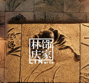 Synthetic Stone Made Orchid Decorative Wall Bricks
