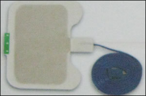 Disposable Patient Plates Single Foil Adult With Cable