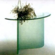Glass Made Console Table