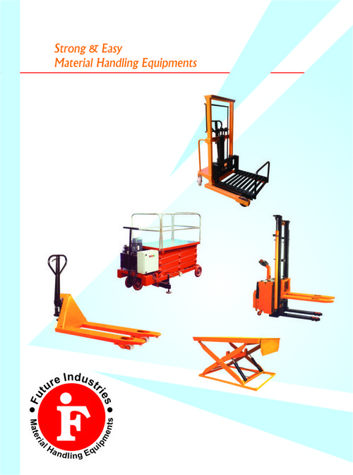 Strong And Easy Material Handling Equipments