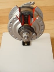 Cut Section Model Of Air Brake System