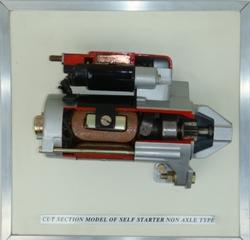 Non Axle Type Self Starter Model