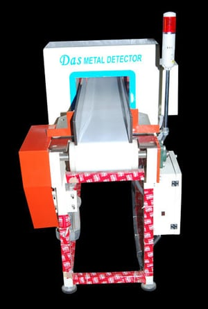 Metal Detector For Metalic Pouch Packaging