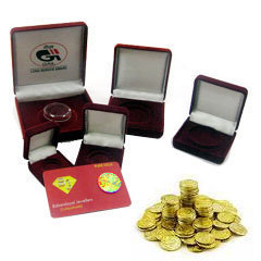 Coin & Medal Card And Box Packaging