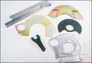 Sheet Metal Components With Machining