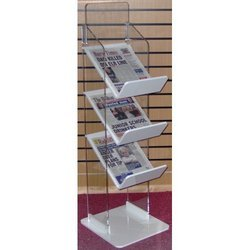 Acrylic Newspaper Floor Display