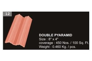 Double Pyaramid Tiles