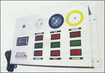 Single Gas To Four Gases Line Pressure Alarm