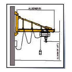 Wall Mounted Heavy Duty Jib Cranes