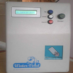Contactless Smart Card Based Water Vending Unit