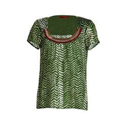 Short Sleeves Round Neck Blouses
