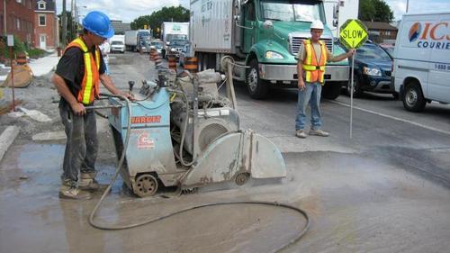 Concrete/Rcc Road Cutter