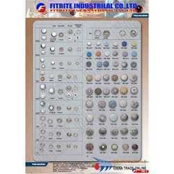 Die Casting Buttons