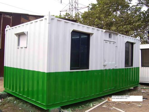 White Prefabricated Structures
