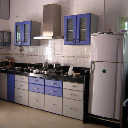 Decorative Modular Kitchen Furniture in Rajkot, Gujarat - ACCURATE ...