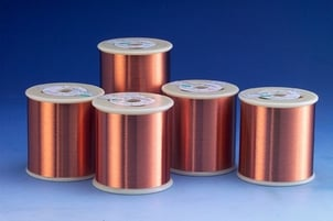Polyester-Imide Enameled Round Copper Wire, Class 180