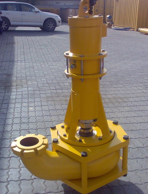 """Bauer Trench Cutter 6"""" Mud Pump"""