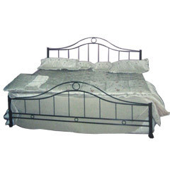 Industrial Iron Bed