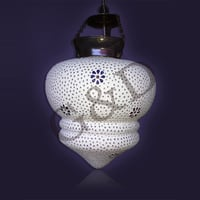 Glass Mosaic Hanging Lamps