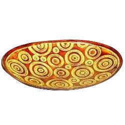 Oval Designer Pattern Platter