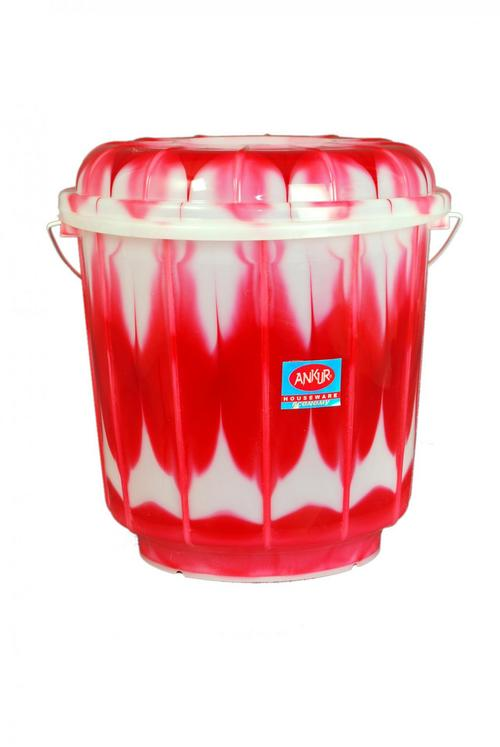 Plastic Red Bucket