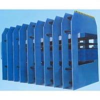 PLC Controlled Hydraulic Hot Press For Rubber Conveyor Belt