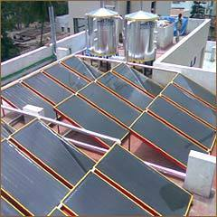 Domestic Solar Water Heaters (FPC)