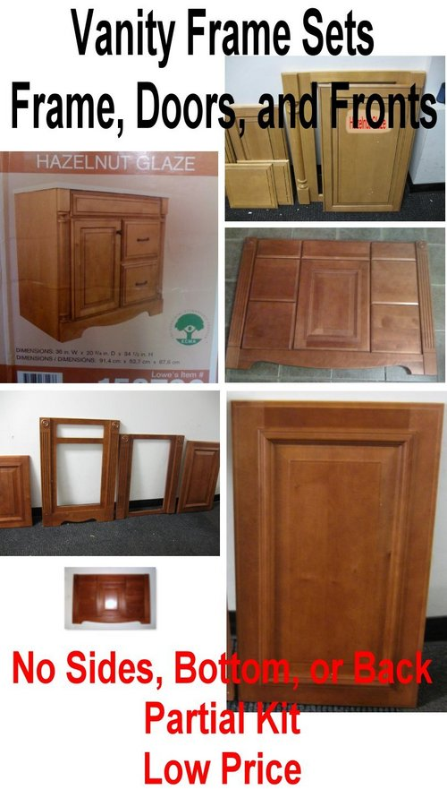 Vanity Frame Fronts And Doors
