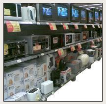Electronic Products Display Racks