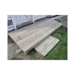 Chemically Treated Wood Articles