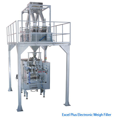 EXCEL PLUS Electronic weigh Filler Packaging Machine