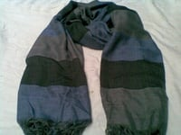 Horizontal Stripe Mens Scarves