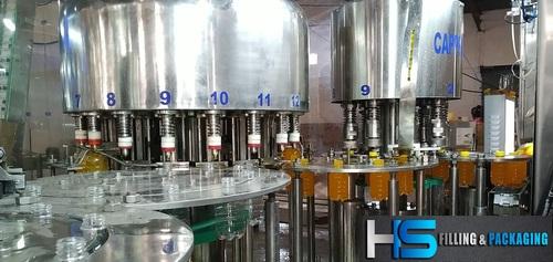 Full Automatic Bottle Filling Machine