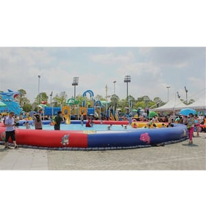 Park Inflatable Round Swimming Pool For Outdoor