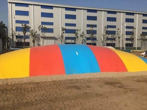 Inflatable Amusement Games Jumping Clouds For Kids
