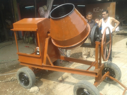 Semi Automatic Half Bag Concrete Mixer Machine